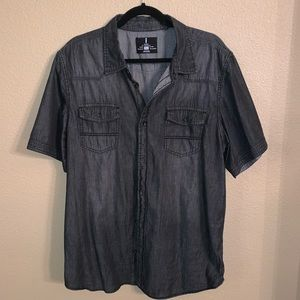 XL i Jeans by Buffalo casual SS button down shirt!